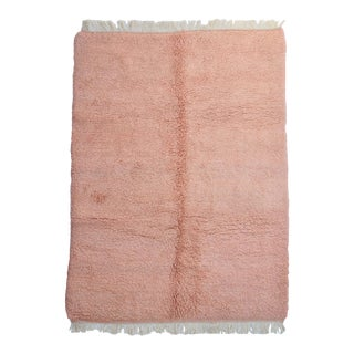 Moroccan Blush Wool Rug