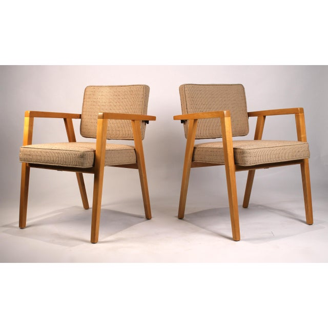 Contemporary Set of Ten Fully Restored Vintage Franco Albini Dining Chairs Produced by Knoll For Sale - Image 3 of 10