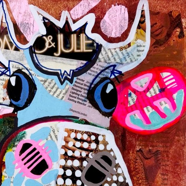 """Folk Art """"Oh Julie"""" Original Artwork by Fredi Gertsch For Sale - Image 3 of 9"""