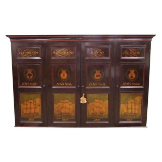 Admiralty House Chatham Cabinet