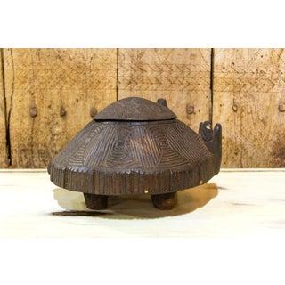 Primitive Carved Turtle Box Preview