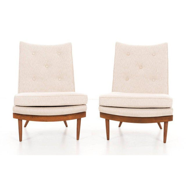 Widdicomb George Nakashima Pair of Chairs For Sale - Image 4 of 9