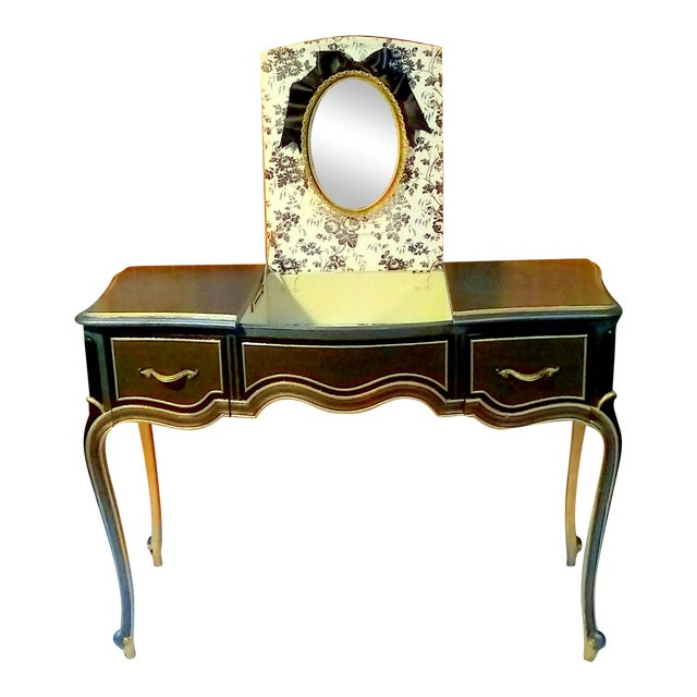 Drexel Touraine French Provincial Vanity Desk - Image 1 of 11