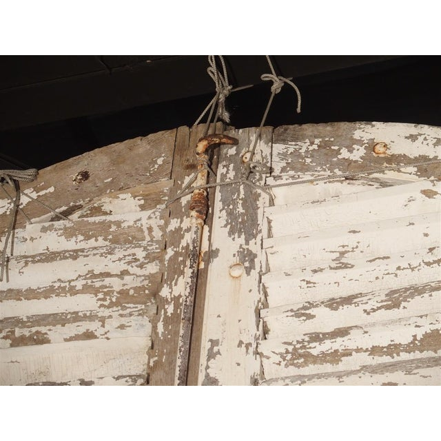 Pair of Large Antique French Door Shutters From a Chateau, 19th Century For Sale - Image 10 of 13