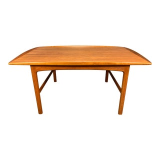 A Pair of Folk Olson Mid-Century Teak Side Tables For Sale