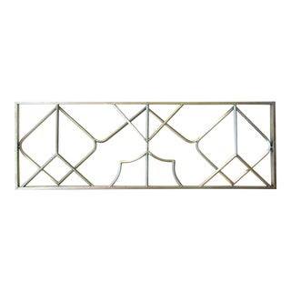Midcentury Chinese Chippendale Fretwork Architectural Element For Sale