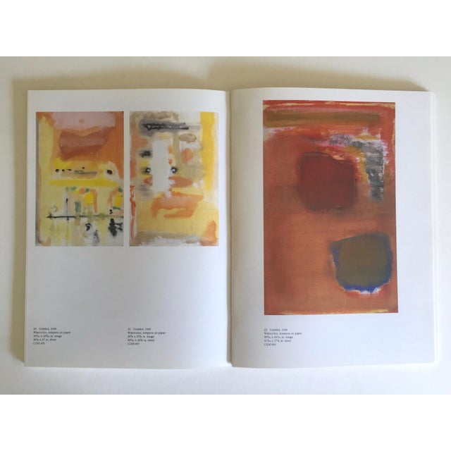 """"""" Mark Rothko : Works on Paper """" Vintage 1984 1st Edtn Abstract Expressionist Lithograph Print Exhibition Art Book For Sale In Kansas City - Image 6 of 13"""