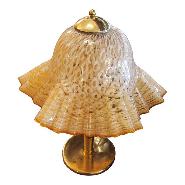 Murano Glass Handkerchief Lamp - Image 1 of 4