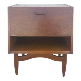 Mid Century Modern Dania Nightstand by American of Martinsville For Sale