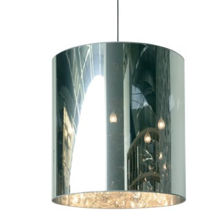 Modern Chandelier With Shade For Sale