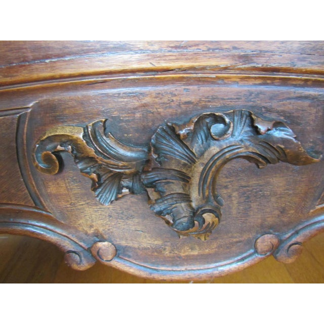 Mirrored Carved Wood Armoire - Image 7 of 10