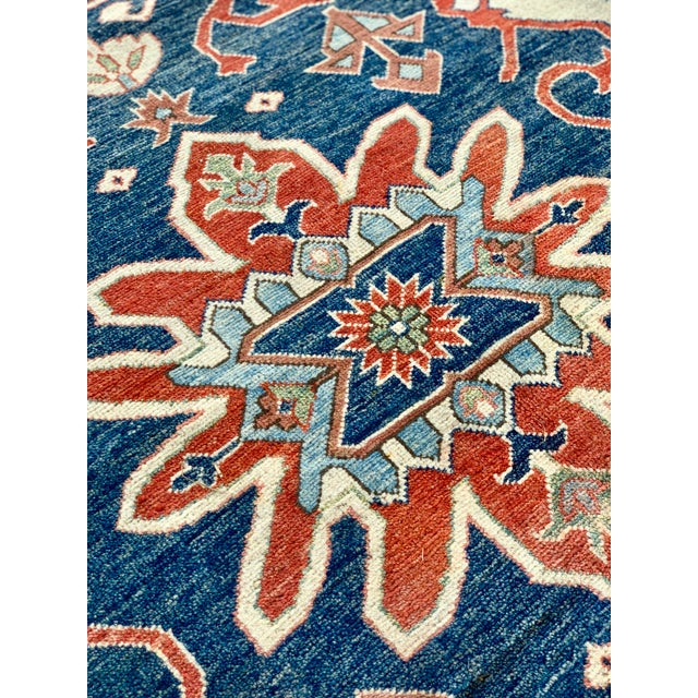 Textile 1990s Persian Serapi Rug - 10′ × 13′9″ For Sale - Image 7 of 13