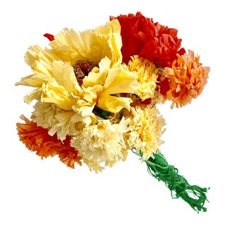 Mexican Paper Flower Bouquet For Sale