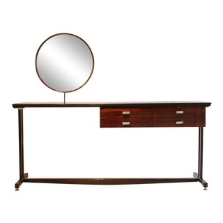 Elegant 1960s Italian Dressing or Vanity Table For Sale