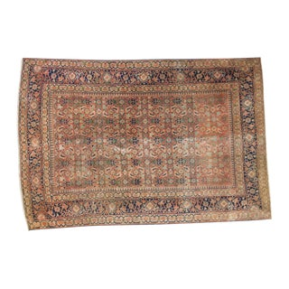 "Antique Tabriz Rug - 4'3"" X 6'3"" For Sale"