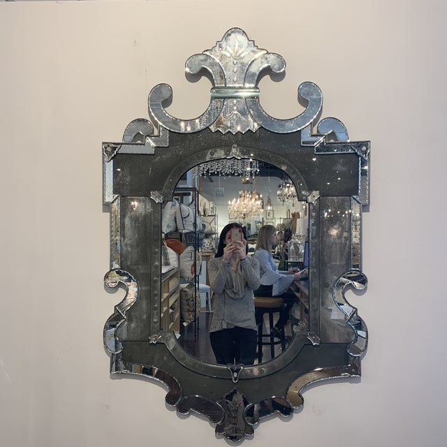 Antique Venetian Wall Mirror For Sale - Image 13 of 13