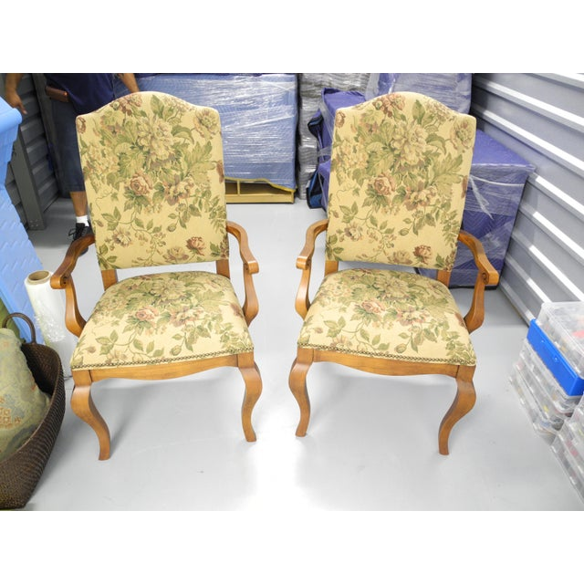 Ethan Allen Maison Dining Chairs - A Pair - Image 2 of 3