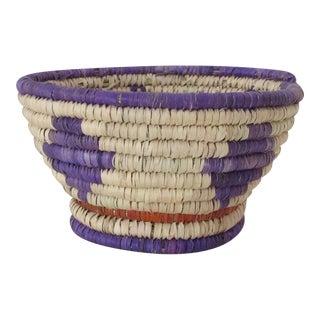 Purple & Red Catchall Basket