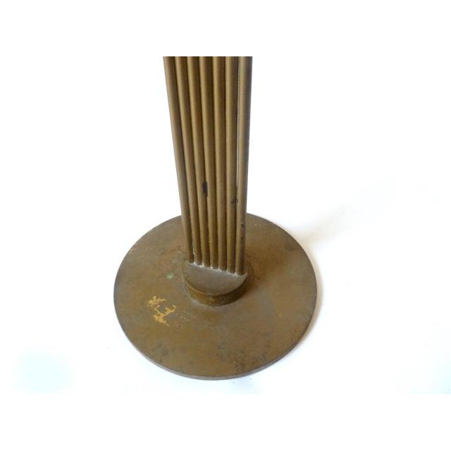 Piet Hein 1950s Mid-Century Modern Piet Hein Ursa Major Brass Candelabra For Sale - Image 4 of 6