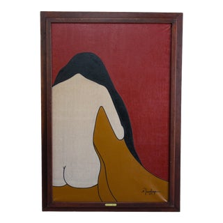 Tocsin Female Figure by Annette Annette Rawlings For Sale