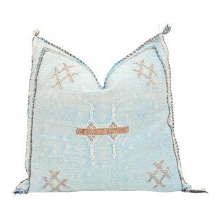 Moroccan Sabra Cactus Silk Pillow Cover For Sale