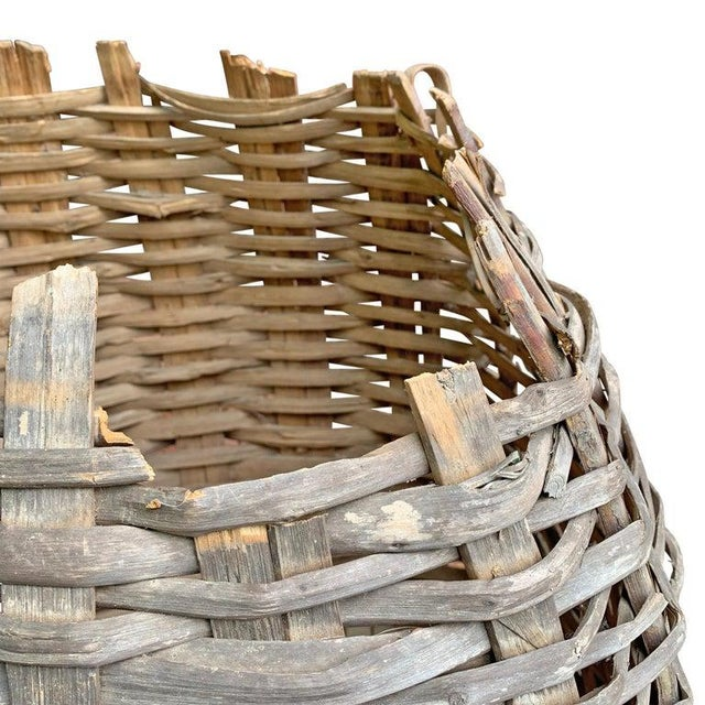 Wood Large 19th Century American Nut Basket For Sale - Image 7 of 11