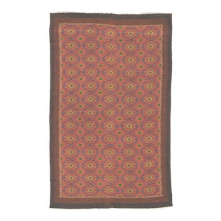 Vintage Early 20th Century Swedish Pile Rug For Sale