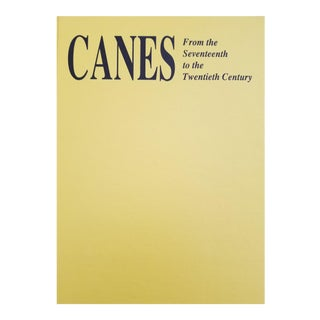 Canes, From the Seventeenth to the Twentieth Century