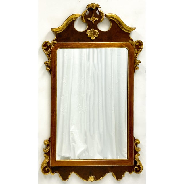 Vintage Decorative Crafts Italian Federal Style Mirror For Sale In Atlanta - Image 6 of 6