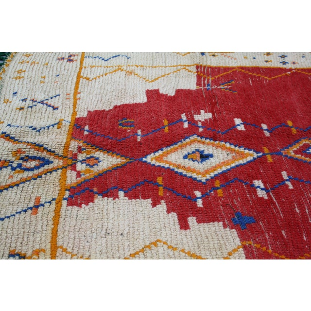 Moroccan Rug - 4'10'' X 4'1'' - Image 3 of 3