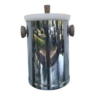 1960s Mid Century Modern Kromex Chrome Ice Bucket For Sale