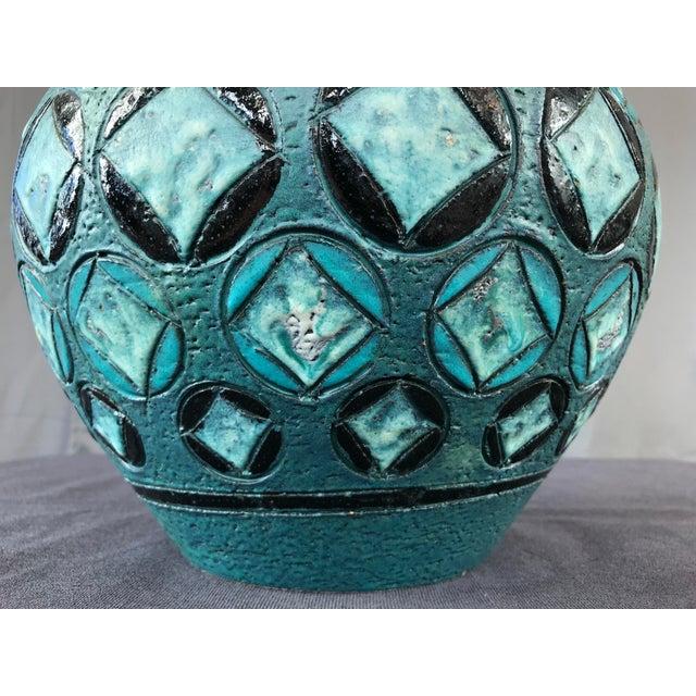 Ceramic Monumental Aldo Londi Vase Bitossi For Sale - Image 7 of 12