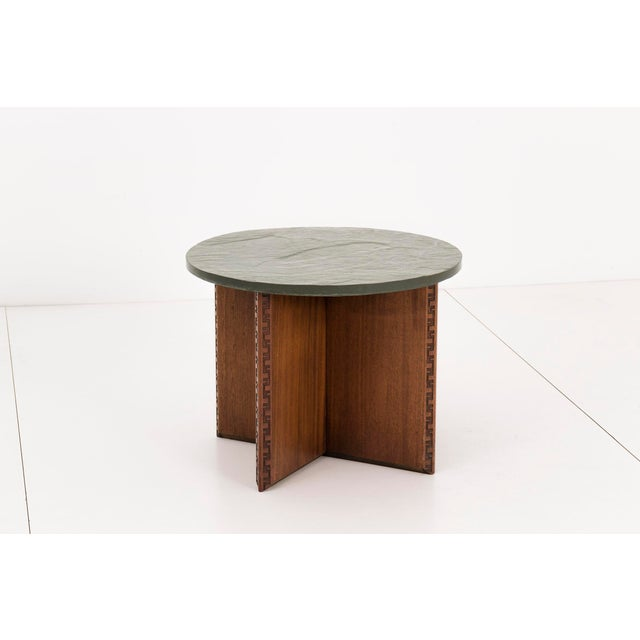 Mid-Century Modern Frank Lloyd Wright Side Table For Sale - Image 3 of 10
