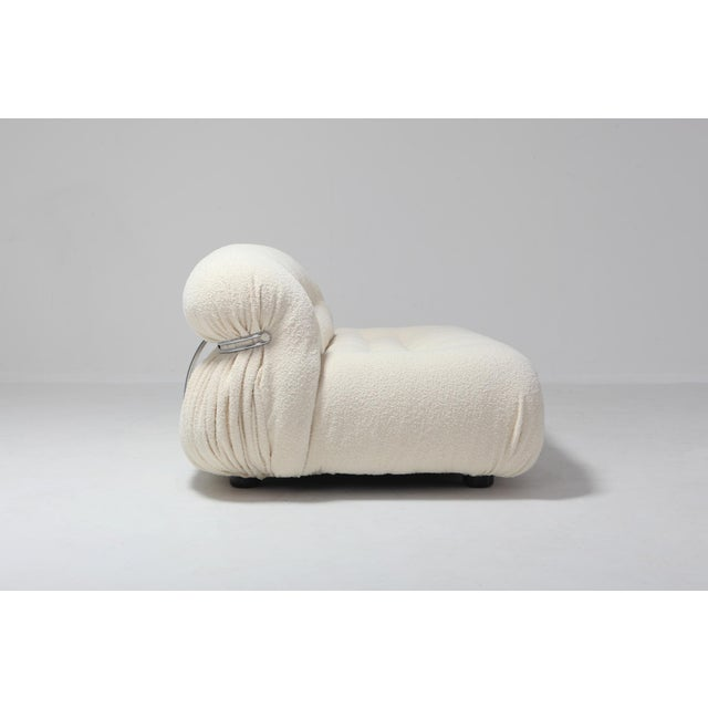 Contemporary Soriana Two-Seat Sofa by Afra E Tobia Scarpa for Cassina For Sale - Image 3 of 11