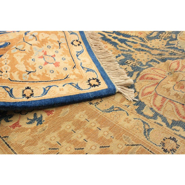 """Bohemian Hand-Knotted Rug, 6'0"""" X 8'7"""" For Sale - Image 4 of 6"""