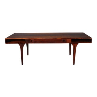 Danish Rosewood Coffee Table by Jorgen and Nanna Ditzel