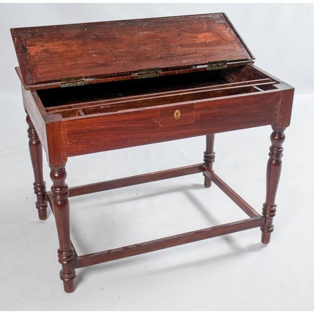 Vintage South Indian Writing Desk - Image 3 of 3