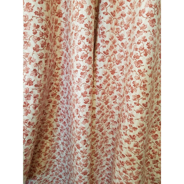 1990s French Ramn and Sons Cotton Leaf Print Fabric For Sale
