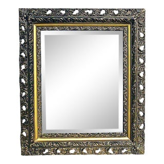 Antique American Beveled Mirror For Sale
