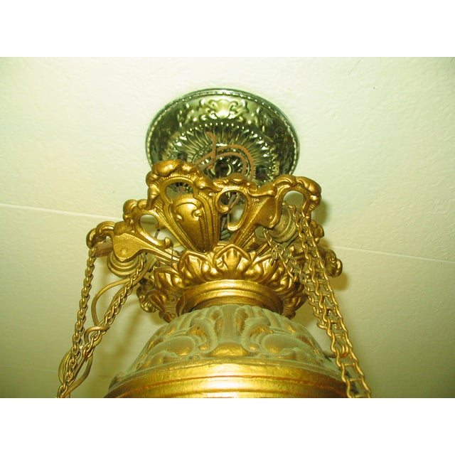 French Traditional Victorian Hall Chandelier 19th Century - Image 8 of 8