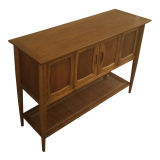 1960s Mid-Century Modern Lane Console Table For Sale