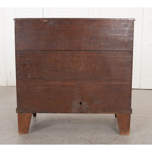 English 18th Century Jacobean Oak Chest of Drawers For Sale - Image 11 of 12