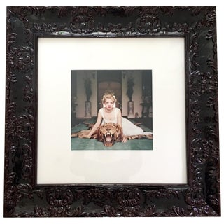 "1959 Slim Aarons Giclee Framed Photograph, ""Beauty & the Beast"" For Sale"