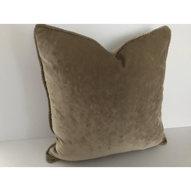 Decorative throw pillow by high end designer Osborne & Little from London. It is made in a wonderful, soft, beautifully...