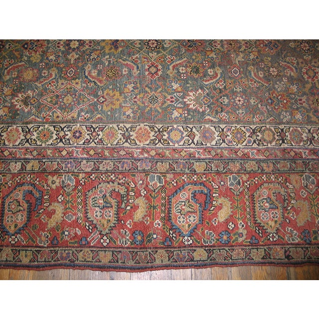 """Early 19th Century Antique Nw Persian Rug 6'10"""" X 17'0"""" For Sale - Image 5 of 8"""