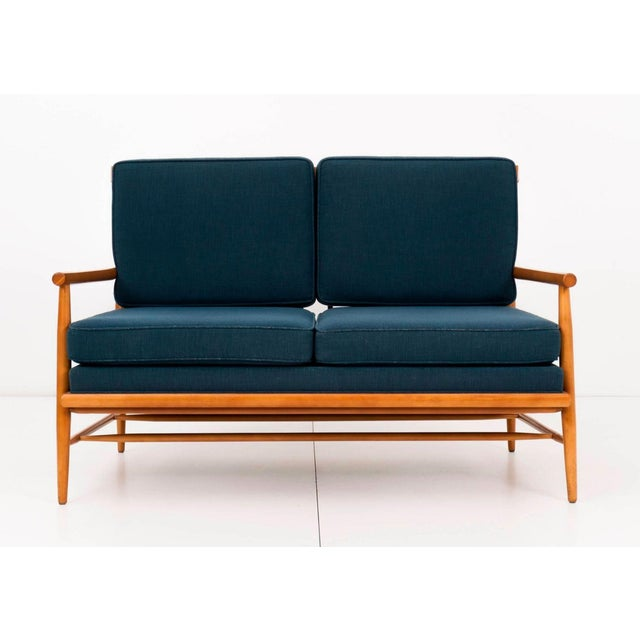 Mid-Century Modern Paul McCobb Settee For Sale - Image 3 of 11