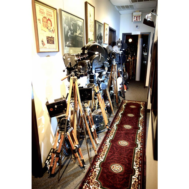 Motion Picture 35mm Theatre Projector 1922 Design, Complete Head Hollywood Relic For Sale - Image 9 of 11