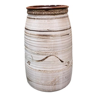 Circa 1880 Chinese Stoneware Rice Wine Pot For Sale