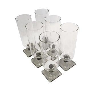 Vintage Champagne Glasses - Set of 6 For Sale