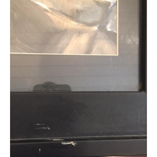 Abstract Portrait of Woman Framed Painting - Image 4 of 5